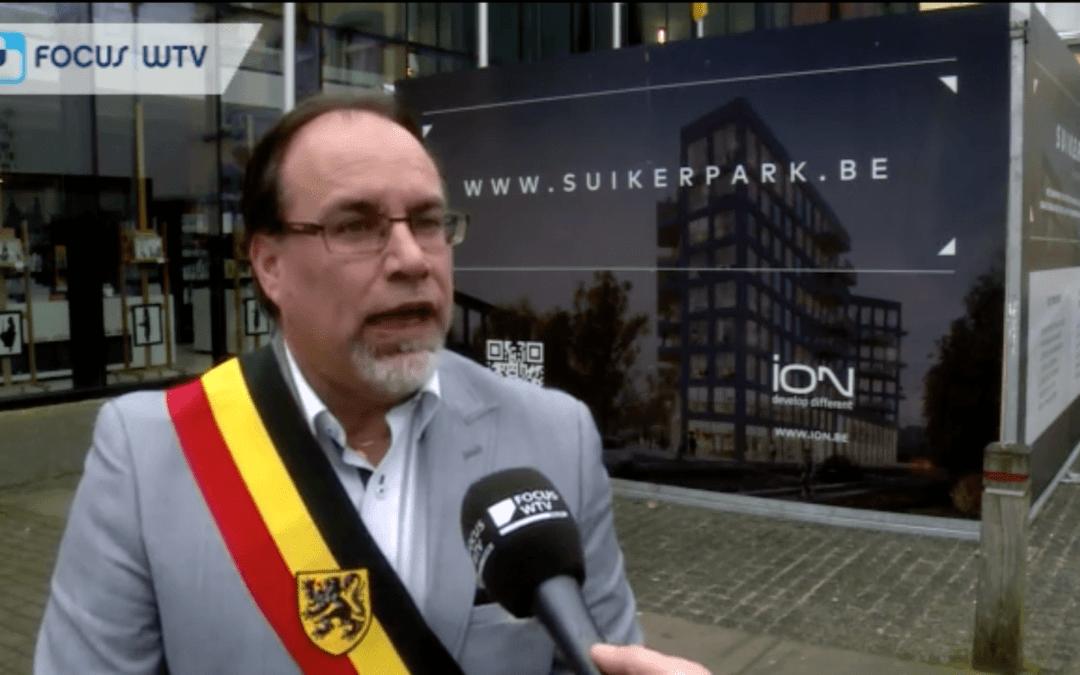 WVI en Veurne kiezen innovatief ION voor realisatie WOW-project op Suikerfabriek
