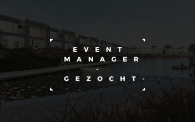 Event Manager gezocht